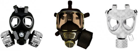 designer gasmasks1 586x215 Pimp your gas mask   Diddo Velema