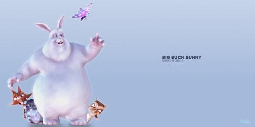 title anouncement thumbnail Big Buck Bunny