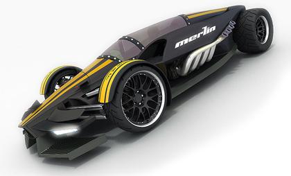merlin1 Merlin Supercar concept   Popa Lucian