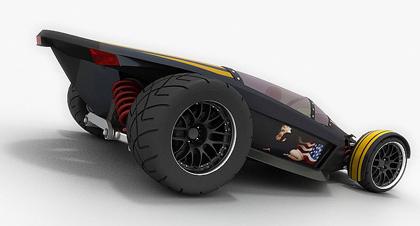 merlin4 Merlin Supercar concept   Popa Lucian