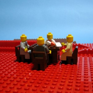 muse black holes and revelations 300x300 20 Famous Album Covers in Lego