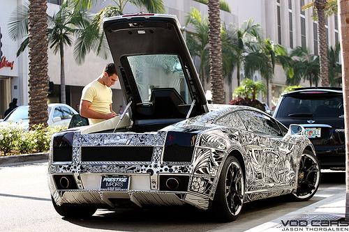 1981277422 676e7228e7 Sharpie Lamborghini Gallardo