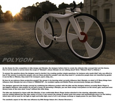 536131220094476 391x350 Polygon Bike Concept