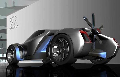 blade 873392i Peugeot Concept Cars of Tomorrow