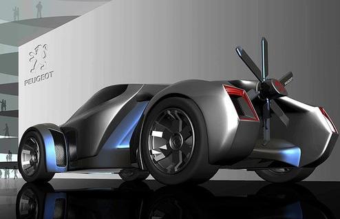 blade 873392i Peugeot Concept Cars of Tomorrow