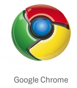 google chrome logo  Google launches internet browser called Chrome