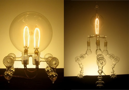 lamps 497x350 Handblown Lamps   Dylan Kehde