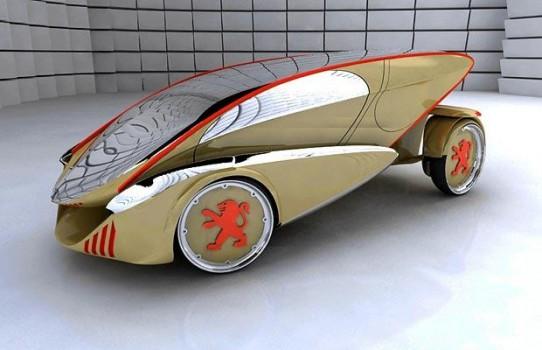 verde 873387i 542x350 Peugeot Concept Cars of Tomorrow