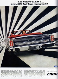 ford fairlane 223x300 50 Inspiring Vintage Advertisements