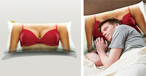 pillow Wonderbra