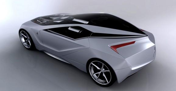 acura 21 concept rendering 1 lg 578x300 Acura 2+1 Concept   Leon Paz