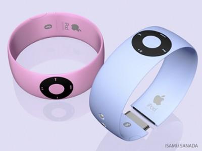 ipod shuffle bracelet2 400x300 iPod Shuffle Bracelet   Isamu Sanada