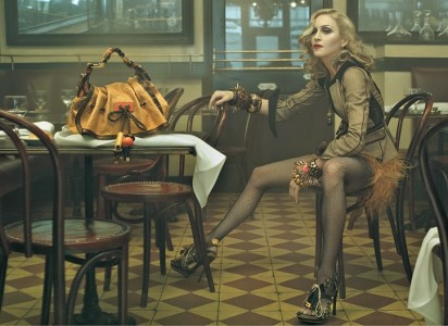 madona vuitton2 412x300 Louis Vuitton Ad Campaign Featuring Madonna