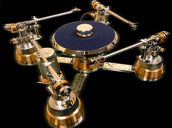 1 Ways to Blow Your Wad: ANGELIS LABOR GABRIEL LUXURY TURNTABLE