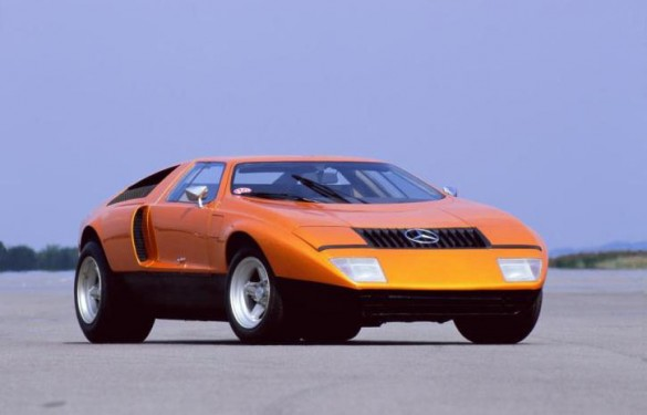 mercedes c111 11 585x375 The gem that never made it, the 1969 Mercedes C111