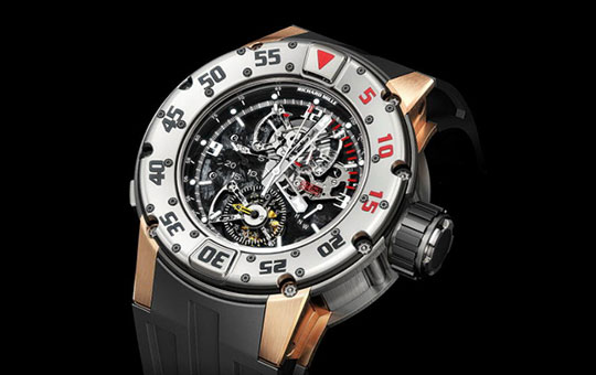 richard mille rm025 diver tourbillon chronograph Ways to Blow Your Wad: Richard Mille RM 025 Diver Tourbillon Chronograph