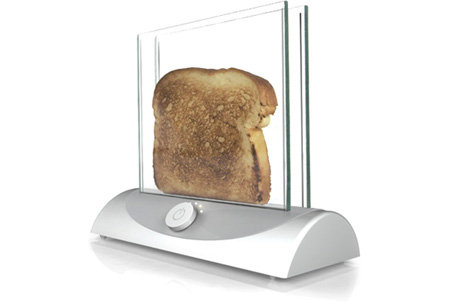 transparent toaster Trasperency