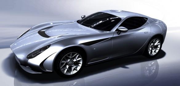 rendering 03 585x281 Zagato Surprises Geneva Auto Show With Perana Z One