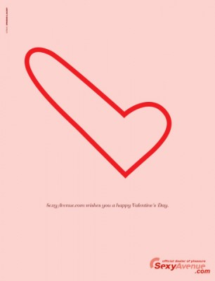 Advertisement for Valentine\'s Day | Artistic Things
