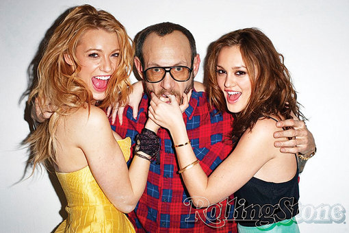 Leighton Meester and Blake Lively on