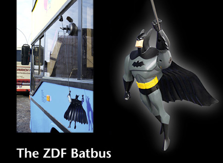 batbus05 Batman Returns with Batbus Ad Campaign