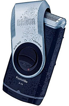 braun pocketgo p70 shaver Life Shaver: The Braun PocketGo P 70