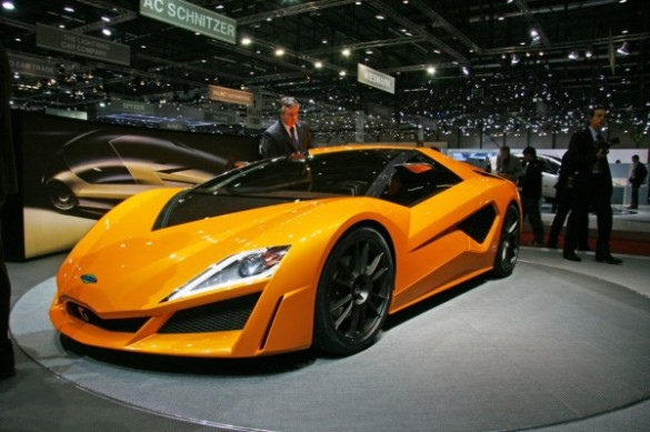 giugiaro namir geneve 2009 04 600x399 585x389 Giugiaro Namir Hybrid Sport Car Concept