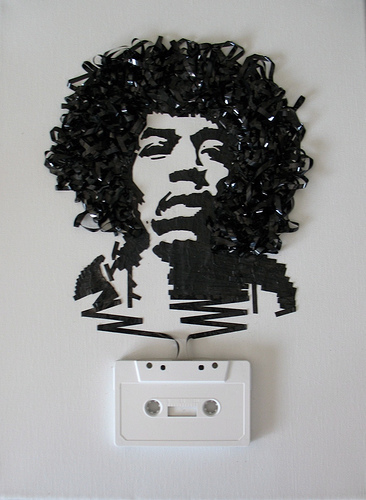 jimi hendrix Ghost In The Machine  Reel Art, For Real