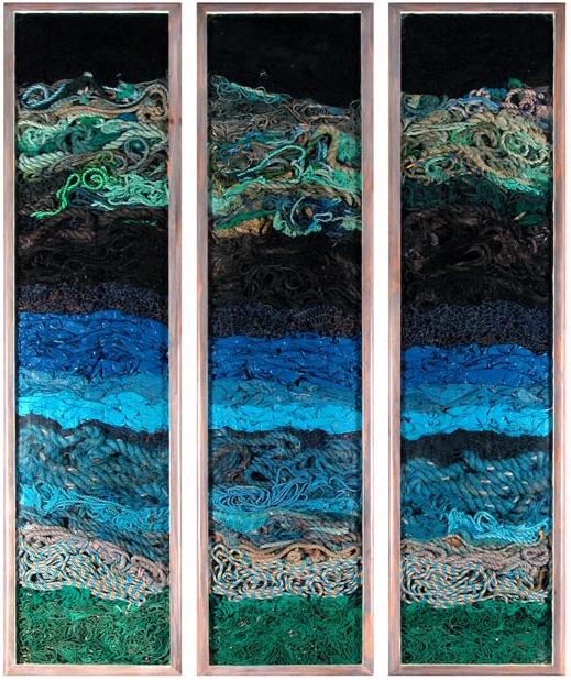 blue rope John Dahlsen