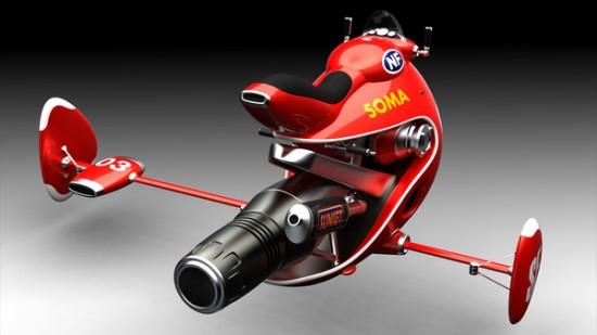 fujikawa1 Jet Bikes, Burnt Legs: Nurio Fujikawas Speedster