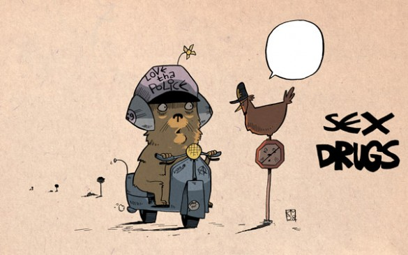 3 sexdrugs 585x366 Cartoons for grown ups. (No, thats not an oxymoron thankyouverymuch).