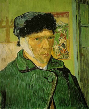 self portrait van gogh Art news (in Haiku)