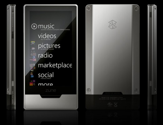 zunehd 522x400 Zune gets a better looking sibling, Apple farts from laughter