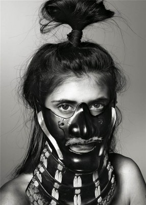 richard burbridge mask photography for livraison magazine 286x400 Ive Got A Fetish For Masks