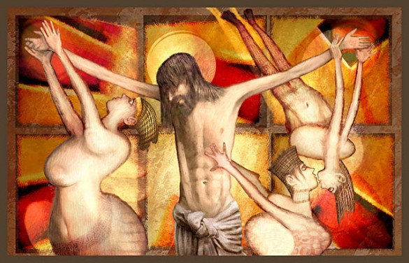 crucifix 585x376 HONEd Artistic Talent