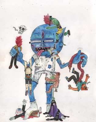 em1 315x400 The Complicated Cartoonist