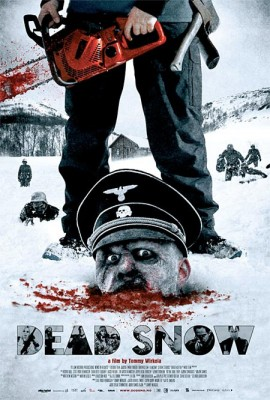 dead snow poster 270x400 I give 2 severed thumbs up to the newest trend in horror. Heil zombies!