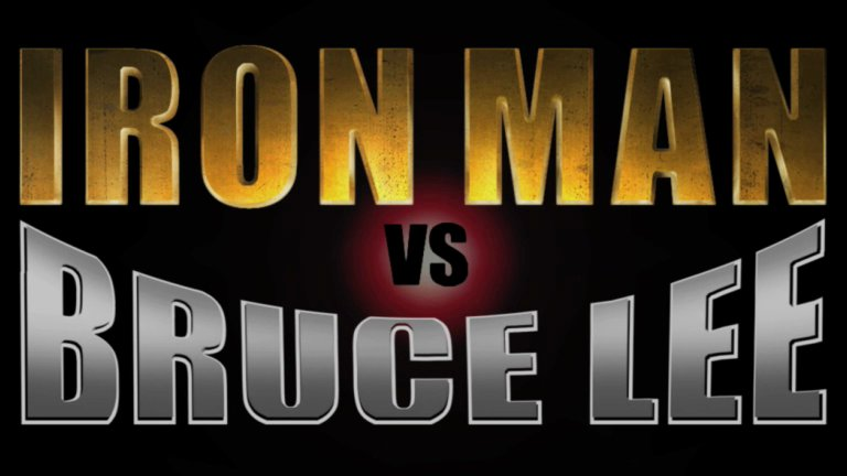iron man vs bruce lee Marvel At This