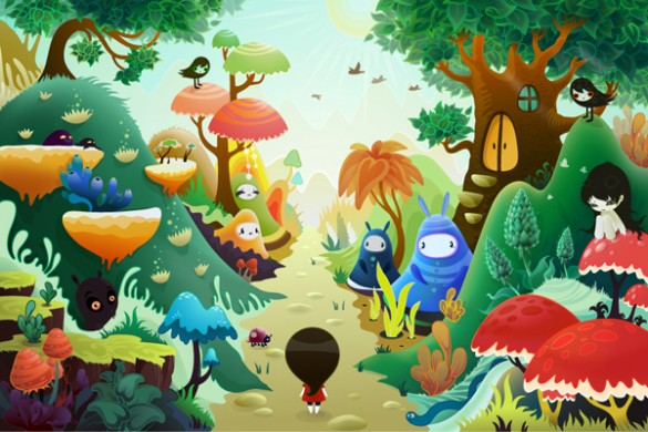 zutto a very long journey 585x390 Zuttoworld is full of cuteness