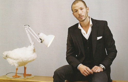 errazuriz lamp Sebastian Errazuriz: If it looks like a duck, and quacks like a duck, then it must be a lamp.