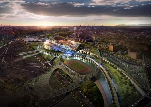 1255038567 2014 incheon asian games stadium 02 medium 528x373 2014 Incheon Main Stadium