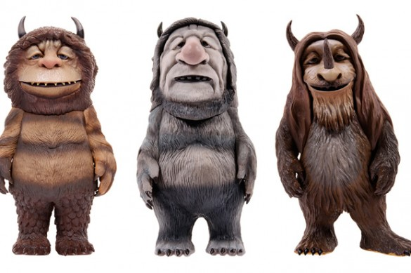 3106 1fa2ad03611700480894bcd2fce2a72b 585x389 Where The Wild Things Are    Action Figures