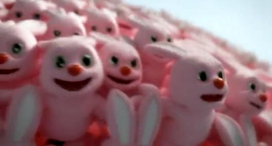 Bunnies 1 Adorable Pink Bunnies