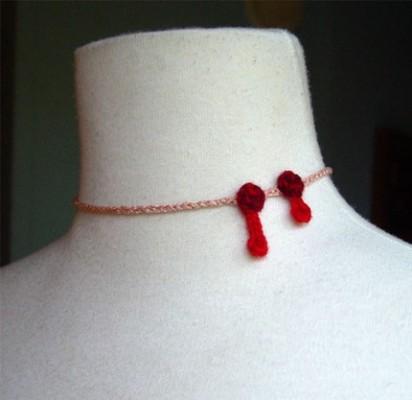 Crochet Vampire bite 412x400 Bite Me