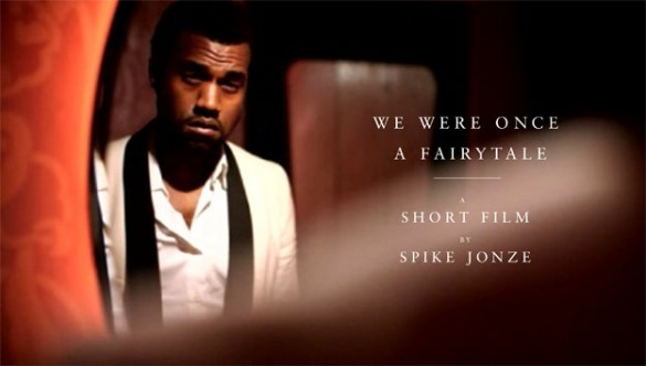 kanye west spike jonze 585x332 Kanye West We Were Once A Fairytale Short Film