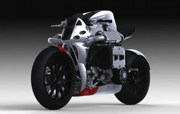 kickboxer 585x371 Subaru Kickboxer Motorcycle