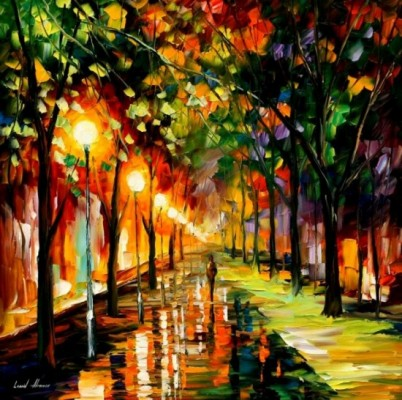 leonid1 550x546 402x400 The Sui Generis Paintings of Leonid Afremov