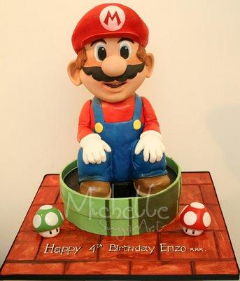 mario bros 719829 Wibowos Cakes