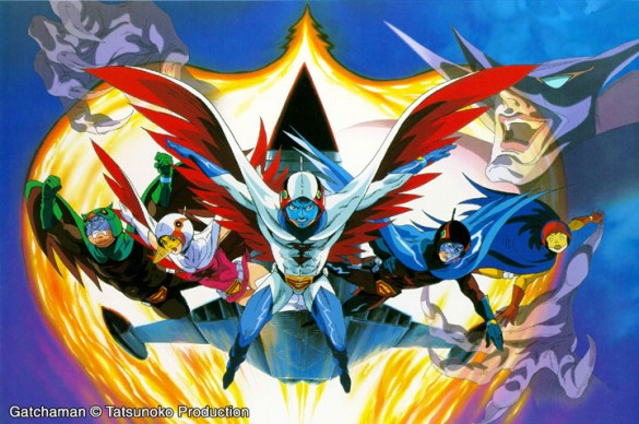 gotcha man 585x388 Dont Worry, I Gatchaman