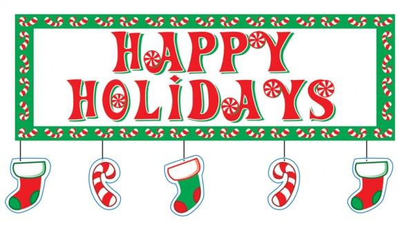 happy holidays 585x332 Merry Christmas Everyone!